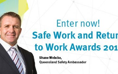 THE SAFE WORK AND RETURN TO WORK AWARDS 2019 ARE NOW OPEN