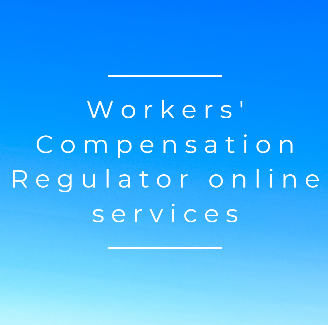 Workers Comp Reg online services