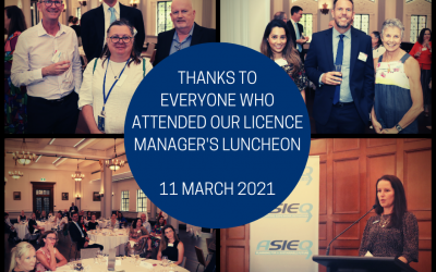 2021 Licence Manager's luncheon